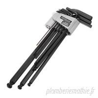 Bondhus Hex embout clé L-Clé Proguard Finition Acier Clés Allen bras long 6 mm